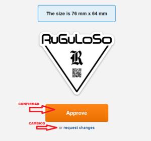 CHOLLOS Y TRUCOS – STICKERMULE- 10 PEGATINAS TROQUELADAS PERSONALIZADAS 76 mm x 76 mm 12